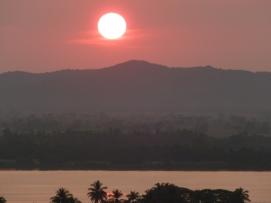 Sunset over Mawlamyine, Myanmar