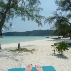 Sandy toes.... Cambodia