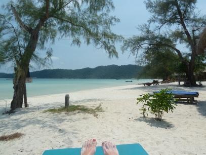 Sandy toes.... Cambodia