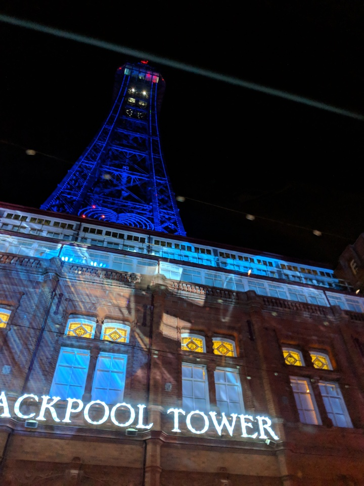 The Blackpool Illuminations!