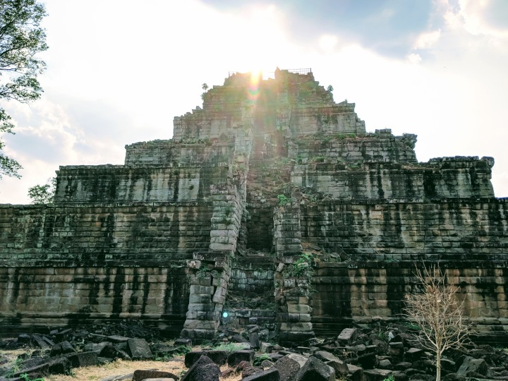 The Ancient site of Koh Ker:Cambodia