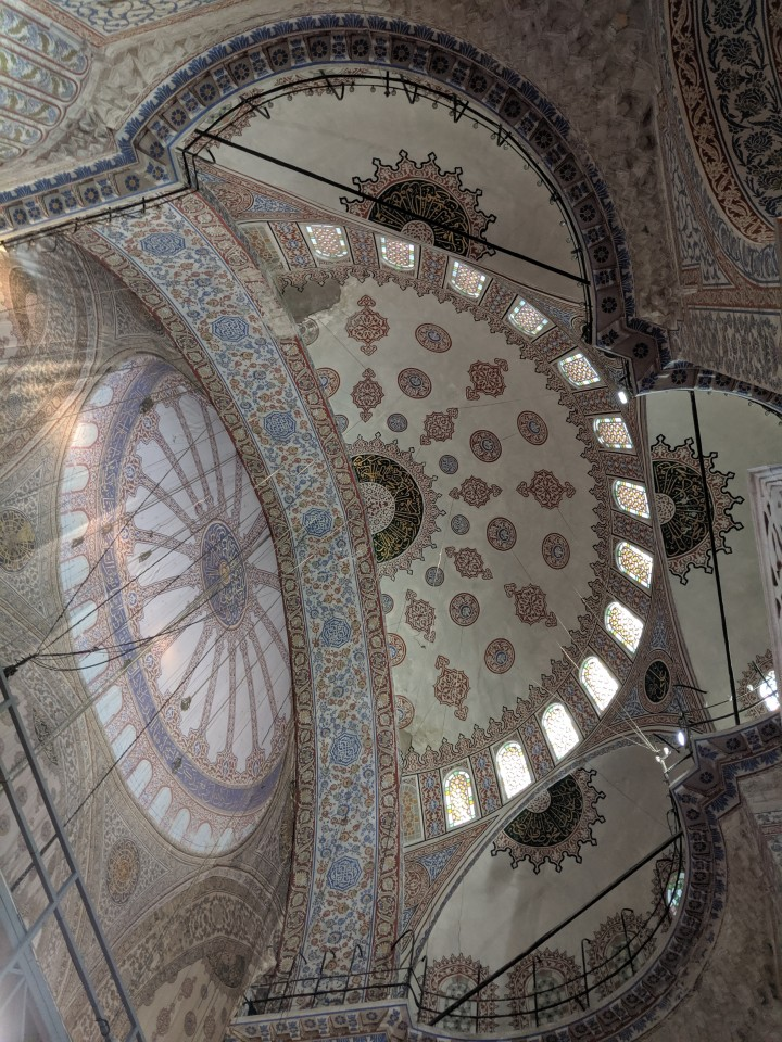 That time I visited Istanbul…and it was under renovation!