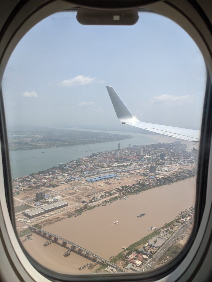 Descending into PhnomPenh