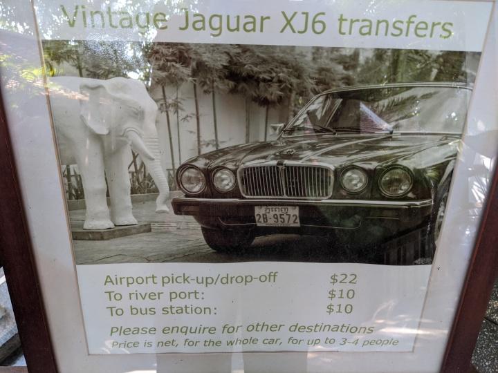 Vintage Jaguar pick-up