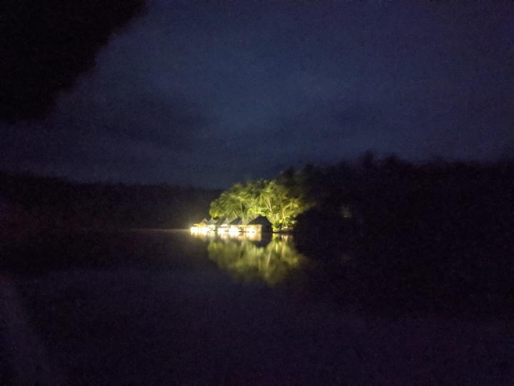 4 Rivers at night