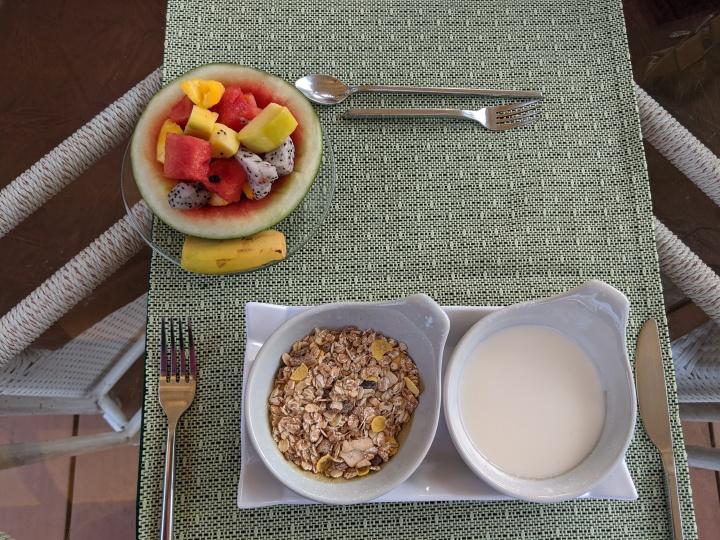 4 Rivers breakfast