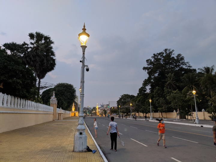 Walk to the riverfront